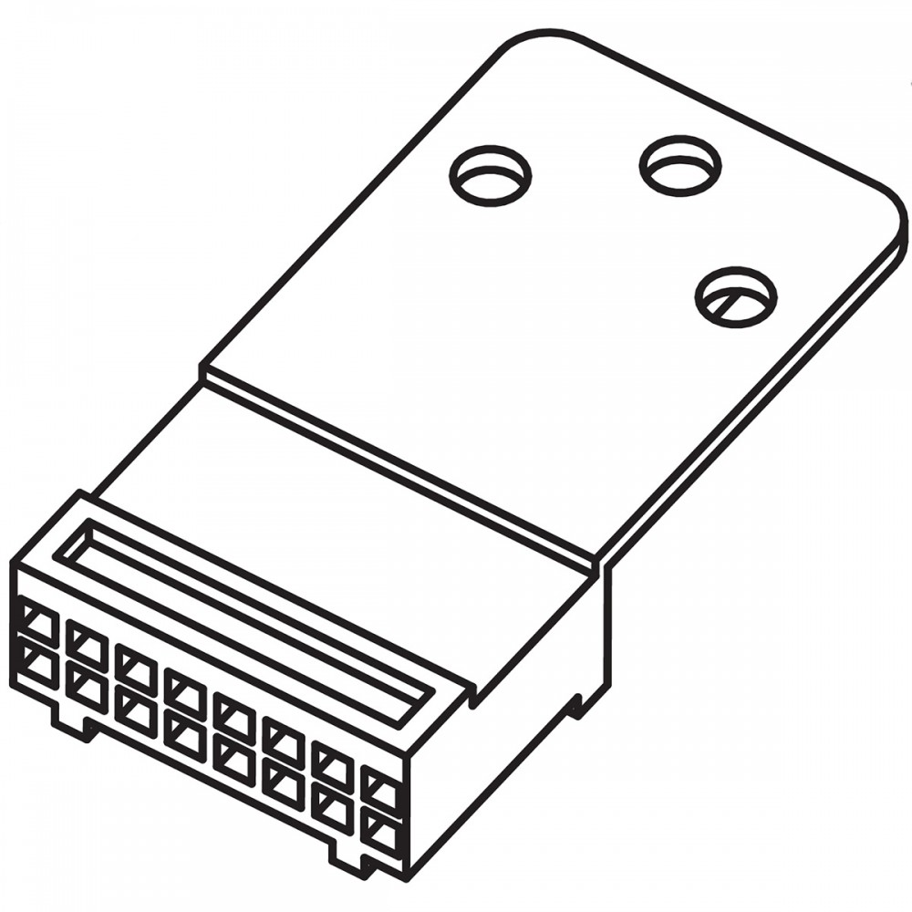 motorola 1580922v01 housing connector
