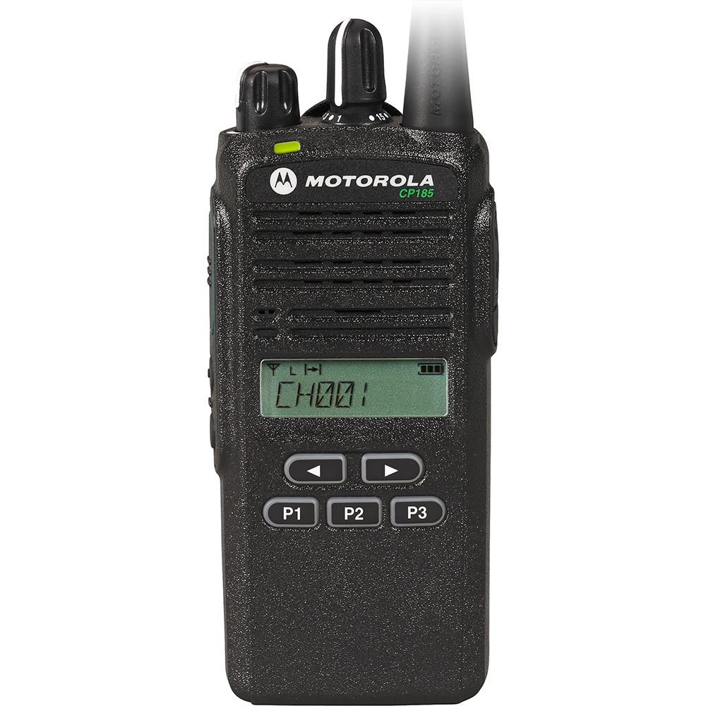Motorola Cp185 Signalling 435 480 Mhz Uhf 2 4w 16 Channels