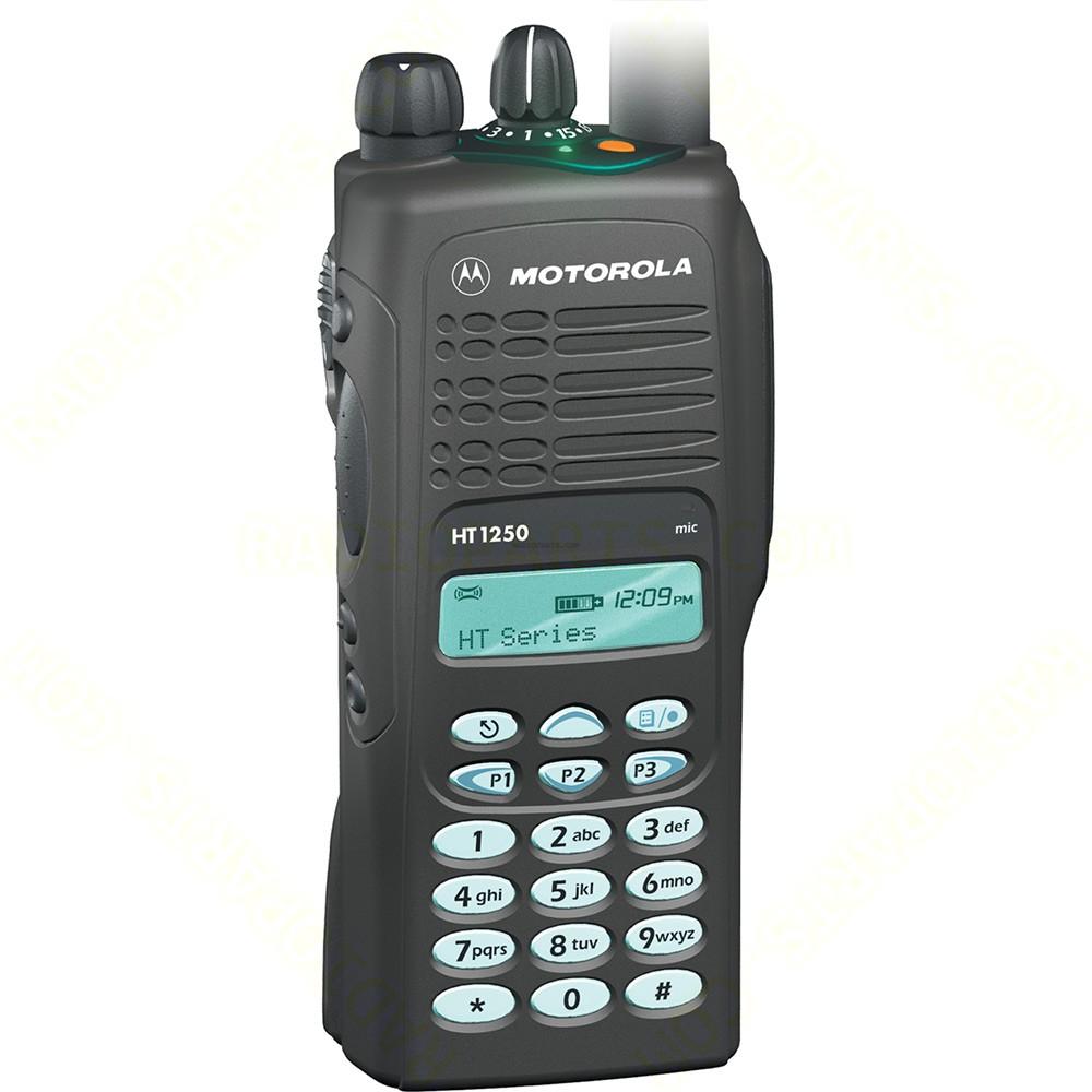 Motorola Ht1250 Vhf With Display And Full Keypad