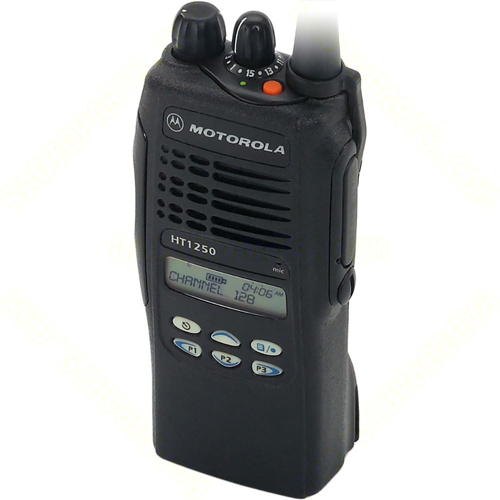 motorola ht1250 vhf with display and limited keypad radioparts com