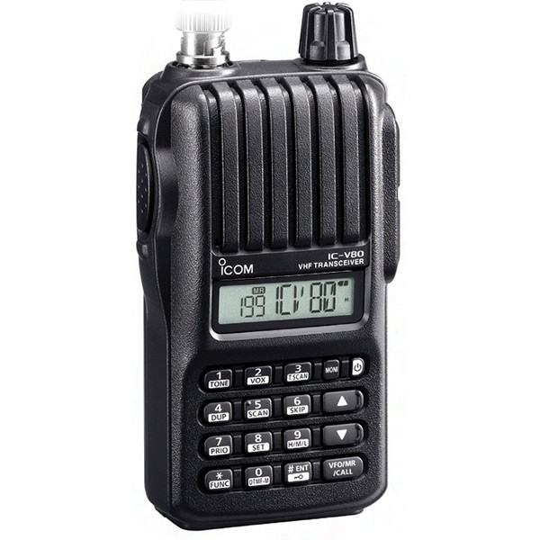 ICOM IC-V80 Sport VHF FM Transceiver - Discontinued/Unavailable