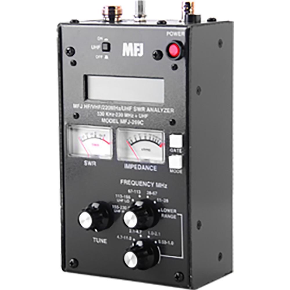 MFJ MFJ-269 MFJ-269C SWR Antenna Analyzer 530 KHz - 230 / 415-470 MHz  Continuous Coverage