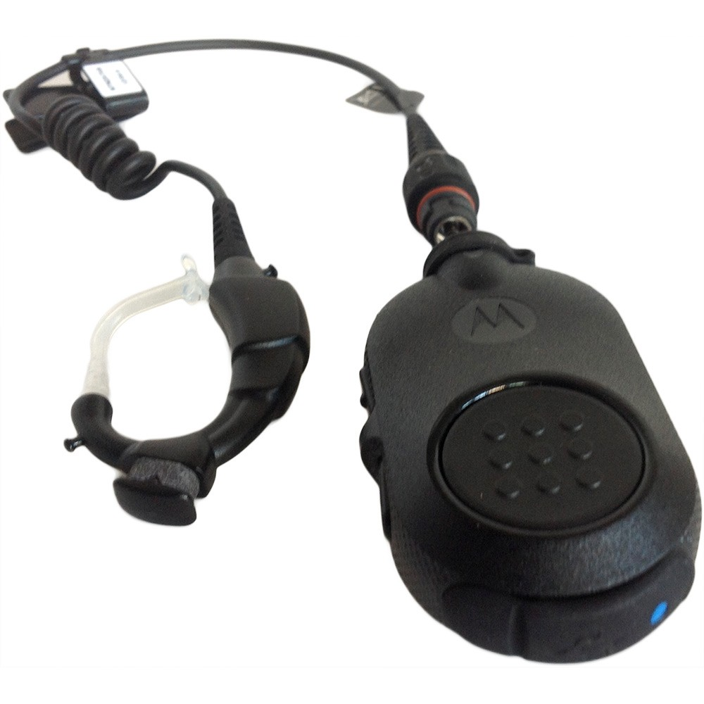 bluetooth headset motorola police radio  bluetooth