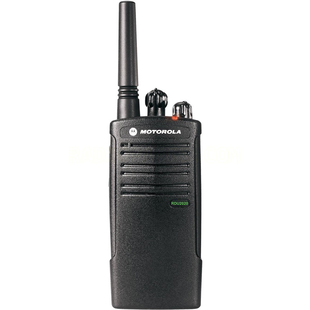 Motorola Rdu2020 Uhf 2 Channel Rugged And Water Resistant