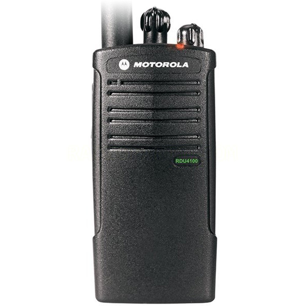 Motorola Rdu4100 Uhf 10 Channel Rugged And Water Resistant