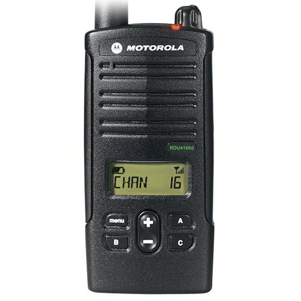 Motorola Rdu4160d Uhf 16 Channel Rugged And Water