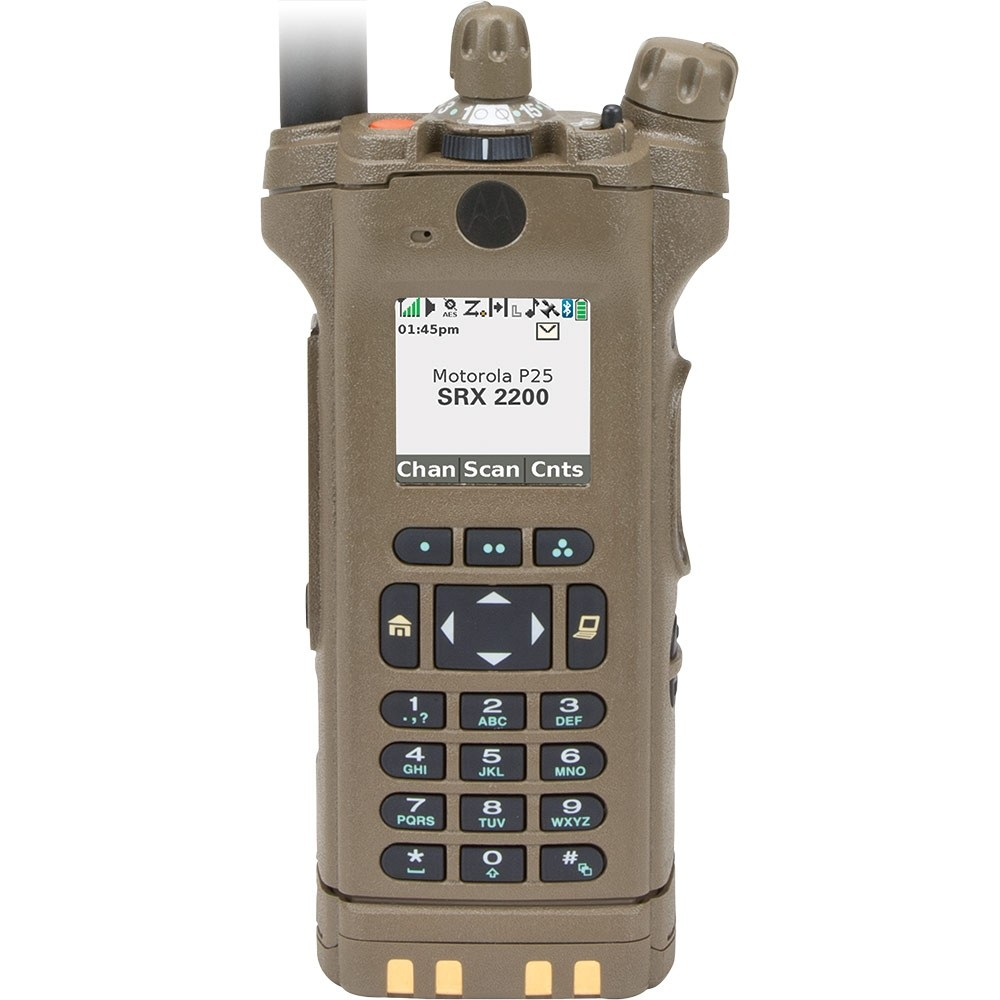 Motorola SRX 2200 PLUS VHF Model 3 5 Portable Radio - P25 - Portable