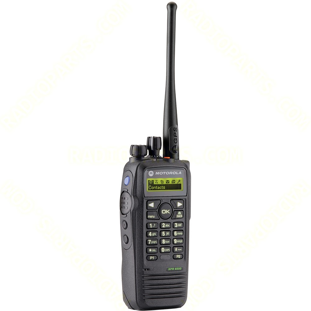 motorola xpr 6550 vhf mototrbo with display and gps portable radio. Black Bedroom Furniture Sets. Home Design Ideas