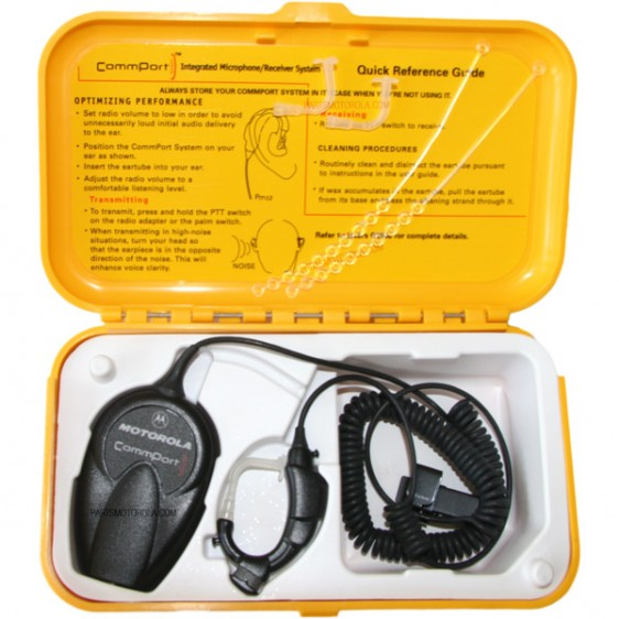 Motorola NTN1723 Commport Ear Microphone