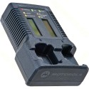 Motorola NNTN7593 IMPRES Dual Unit Charger with Display for APX Radios