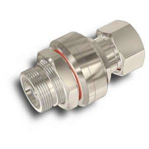 CommScope APC-BDFDM-450A 380-520 MHz DIN-Fem Bulkhead to DIN-Male QW Surge Arrestor