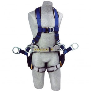 DBI Sala Exofit Tower Harness QC Strap 6 D-Rings Sling Seat, Medium