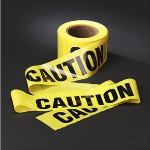 "3M 3M Caution Barricade Tape 3"" x 1000 Ft Roll"