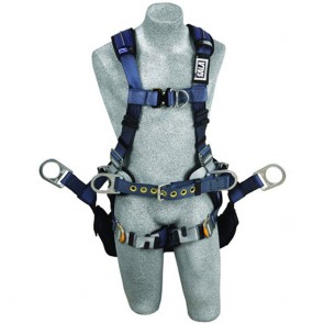 DBI Sala Large, Exofit XP Tower Harness 6 D-Ring QC Chest & Leg Straps